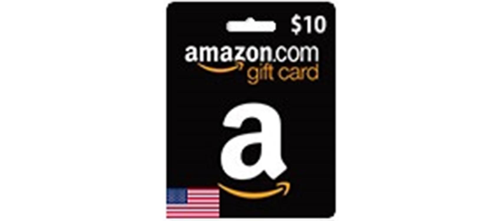 Amazon Gift Card  (US) 10$  (lg)