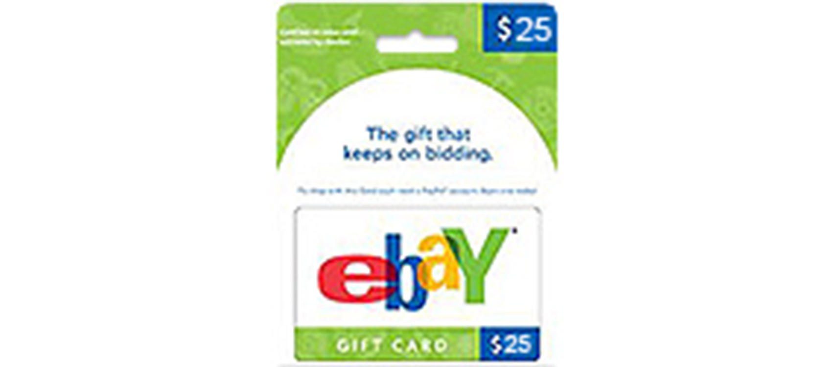 eBay Gift Card 25$  (US)  (lg)