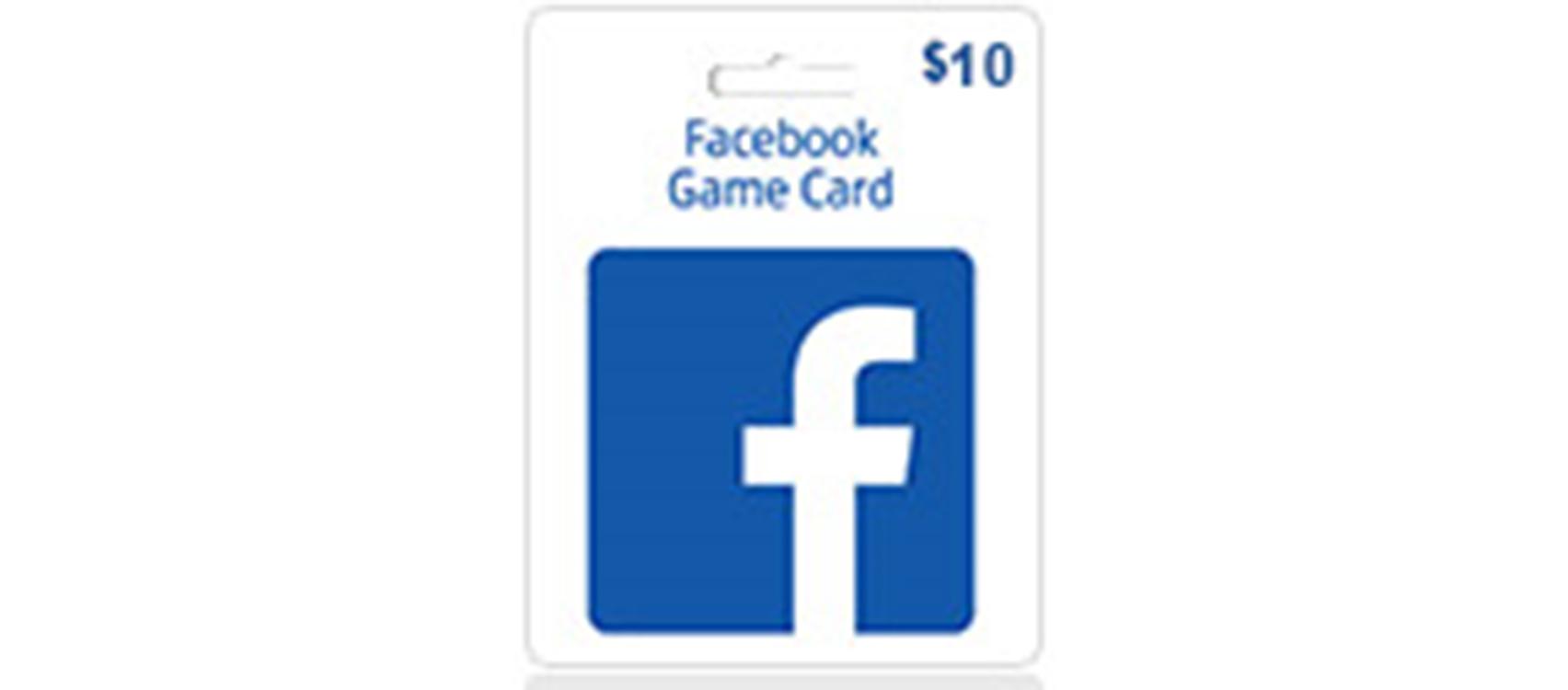 Facebook Game Card  (Global) 10$  (lg)