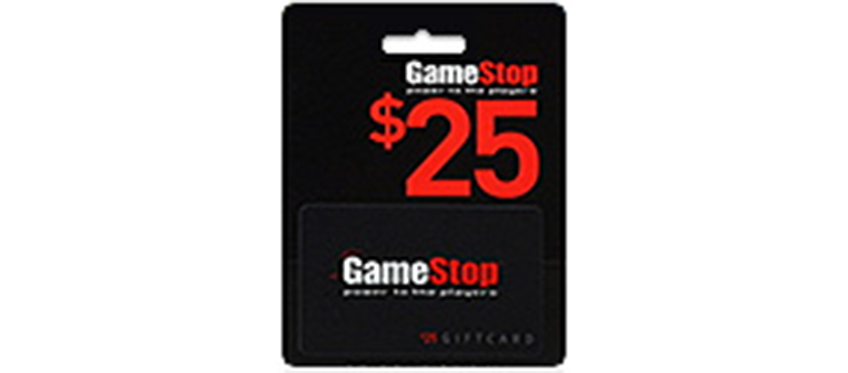 GameStop Gift Card 25$  (US)  (lg)