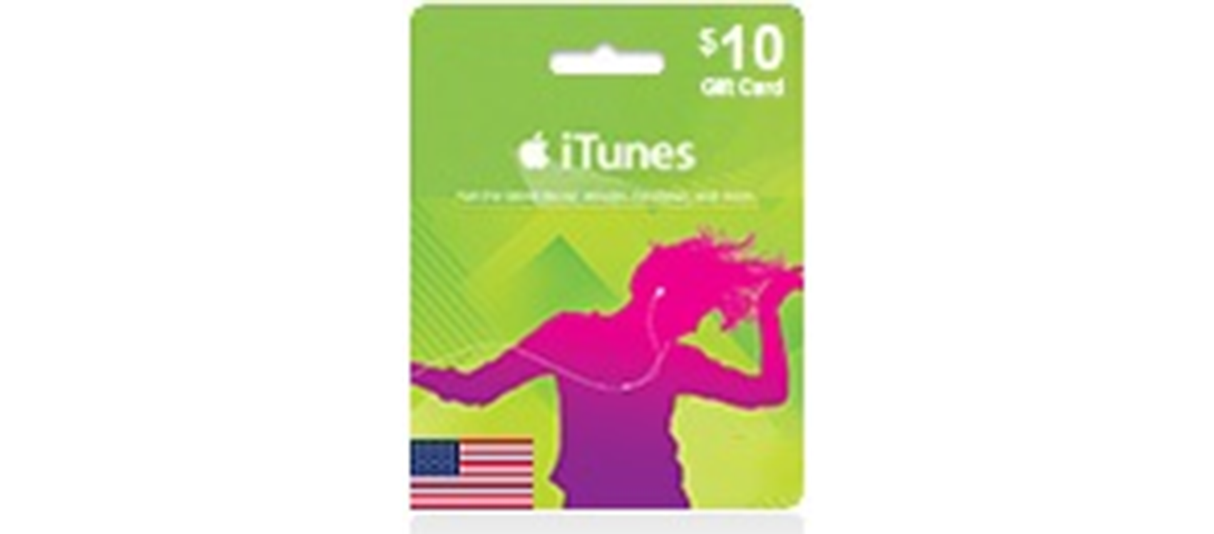 iTunes Gift Card  (US) 10$  (lg)