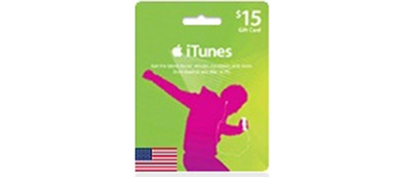iTunes Gift Card  (US) 15$  (lg)
